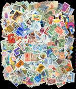 Finlande - 1500 timbres diff. obl.