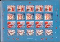 Aland - Kerst 2012 - vel sluitzegels