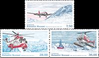 Grønland - Civil luftfart - Postfrisk sæt 3v
