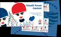 Grønland - Jul 2012 - Postfrisk frimærkehæfte