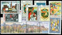 Luxemburg 4 postfriske sæt