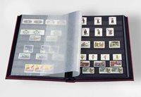 Classeur Leuchtturm BASIC - Noir - A4 - 64 pages noires - couverture non ouatinée