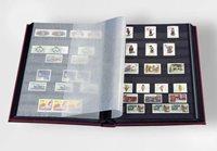 Classeur Leuchtturm BASIC - Vert - A4 - 64 pages noires - couverture non ouatinée