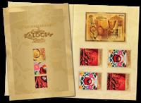 Ungarn - Frimærkets dag 2012 - Folder med specialfrimærker