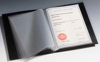 A4 document album  - With 20 sheets - Lighthouse /  Leuchtturm