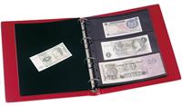 Album pour billets de banque VARIO, 10 Pochettes incluses, bleu
