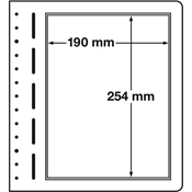 LEUCHTTURM hoja en blanco-LB, 1 división, p. 1