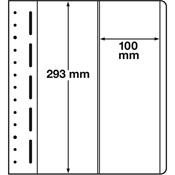 LEUCHTTURM feuille neutres LB, 2 compartiments, verticales, p. 1