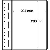 LEUCHTTURM feuille neutres LB, 1 compartiment, dim. Int. 205 x 293 mm, p.1