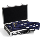 coin case CARGO L 6 PRO for 198 coins, incl. 6 coin trays, black