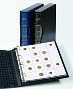 Album GRANDE, façon classiqu+10 pochettes pour 200étuis cart 50x50mm+Noir e
