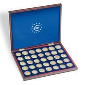 Coffret Numismatique VOLTERRA UNO de luxe, avec 35  capsules à 26 mm  Ø