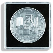 Quadrum XL - Møntkapsel - op til en diameter på 51  mm