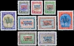 Grønland - Danmark befriet - 17-25 *
