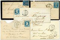 Frankrig 5 gamle breve