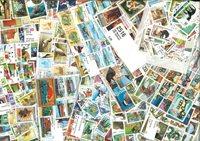 Francobolli tematici in 20 pacchetti diff.