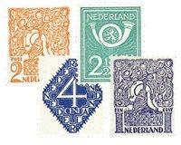 Nederland Diverse voorstellingen 1923 - Nr. 110-113 - Postfris