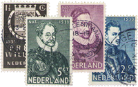 Holland 1933 - NVPH 252-255 - Stemplet