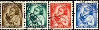 Holland 1934 - NVPH 270-273 - Stemplet