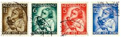 Holland 1934 - NVPH 270-273 - Stemplet