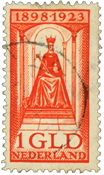 Holland 1923 - NVPH 129 - Stemplet