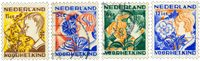 Kinderzegels 1932 - Nr. 248-251 - Gebruikt
