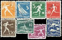 Olympiade-zegels 1928 - Nr. 212-219 - Gebruikt