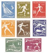 Holland 1928 - NVPH 212-219 - Ubrugt