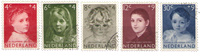 Netherlands 1957 - NVPH 702-706 - Cancelled