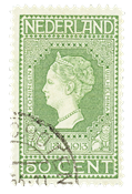 Holland 1913 - NVPH 97 - Stemplet