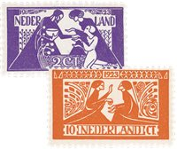 Holland 1923 - NVPH 134-135 - Postfrisk