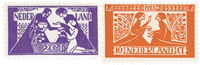 Holland 1923 - NVPH 134-135 - Ubrugt