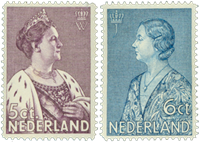 Holland 1934 - NVPH 265-266 - Postfrisk