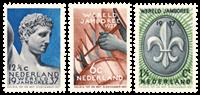 Netherlands 1937 - NVPH 293-295 - Mint
