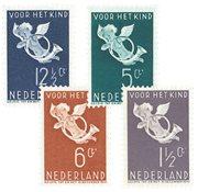Holland 1936 - NVPH 289-292 - Ubrugt