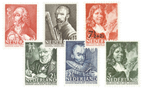 Nederland 1940 - Nr. 350-355 - Ongebruikt