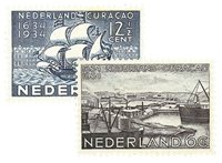 Holland 1934 - NVPH 267-268 - Ubrugt