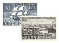 Holland 1934 - NVPH 267-268 - Ubrugt
