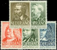 Netherlands 1939 - NVPH 318-322 - Unused