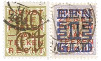 Holland 1923 - NVPH 132-133 - Stemplet