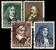 Netherlands 1937 - NVPH 296-299 - Cancelled
