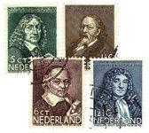 Holland 1937 - NVPH 296-299 - Stemplet
