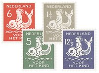 Holland 1929 - NVPH 225-228 - Ubrugt
