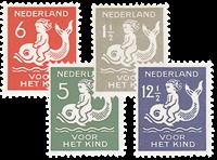 Holland 1929 - NVPH 225-228 - Ubrugt