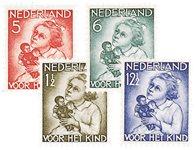 Holland 1934 - NVPH 270-273 - Ubrugt