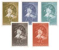 Nederland 1937 - Nr. 300-304 - Ongebruikt