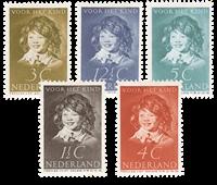 Holland 1937 - NVPH 300-304 - Ubrugt