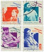 Pays-Bas - NVPH 240-243 - Oblitéré