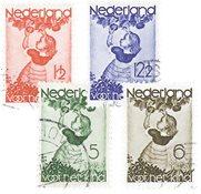 Holland 1935 - NVPH 279-282 - Stemplet