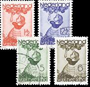 Nederland Kinderzegels 1935 - Nr. 279-282 - Gebruikt